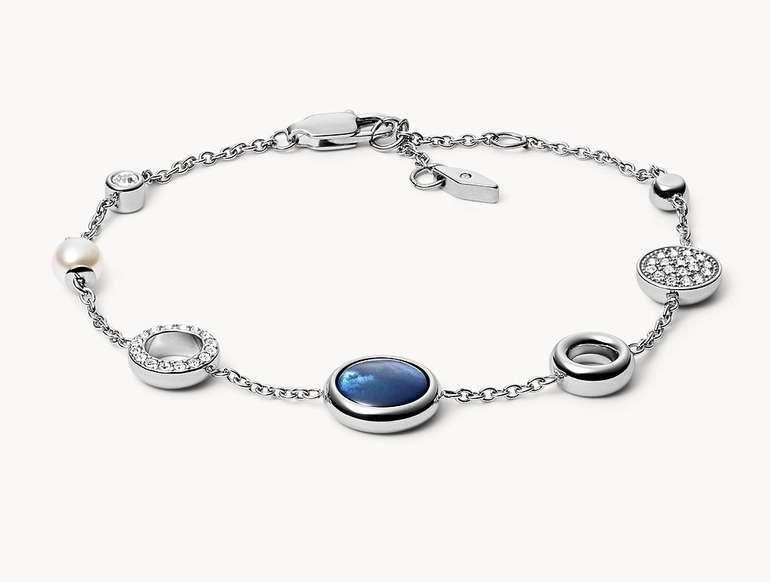 Fossil Damen Armband 'Disc Stainless Steel' (JF03249040) für 23,10€ inkl. Versand (statt 40€)