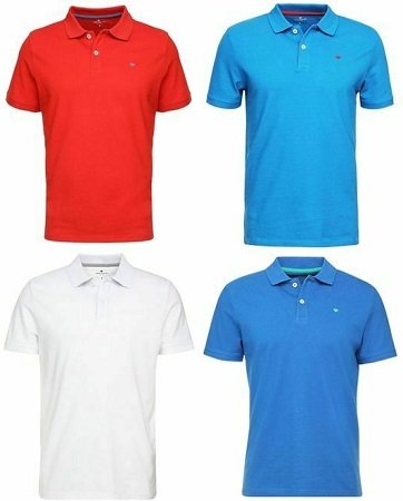 Tom Tailor Basic Herren Poloshirts aus 100% Baumwolle für je nur 14,99€ inkl. Versand (statt 22€)