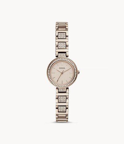 "Fossil BQ3503 Damenuhr ""Tillie Mini"" Edelstahl für 39€ inkl. Versand (statt 90€)"