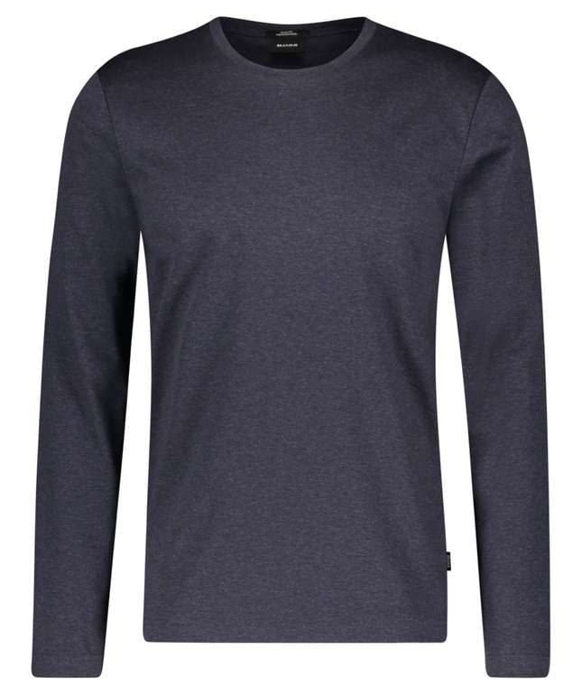 BOSS Herren Langarmshirt Tenision aus Baumwolle für 73,76€ (statt 90€)