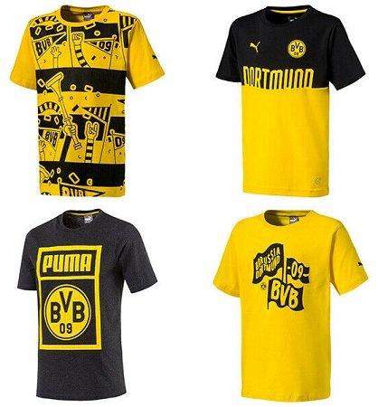 Puma Borussia Dortmund Fan-Shirts für 14,95€ inkl. Versand (statt 20€)