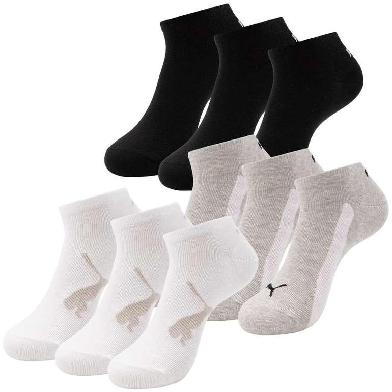 Puma 9er Pack Kinder Sneaker Socken für 9,80€ inkl. Versand (statt 14€) - 23 bis 26