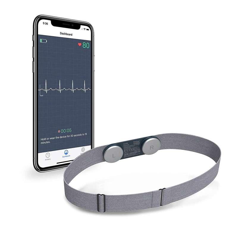 Wellue DuoEK - Brustgurt mit Bluetooth EKG-Monitor für 69,99€ inkl. Versand (statt 118€)