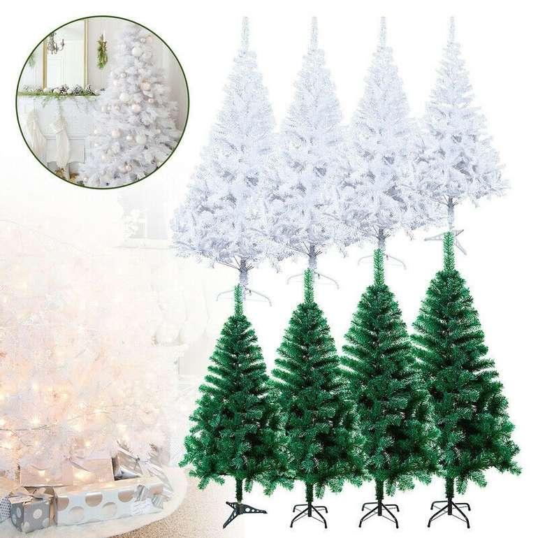Vingo künstlicher Weihnachtsbaum in grün oder weiß (120 - 220 cm) ab 7,99€ inkl. Versand (statt 11€)
