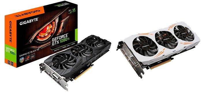 GIGABYTE GeForce GTX 1080 Ti Gaming OC 11GB Grafikkarte für 579,99€ (statt 710€)