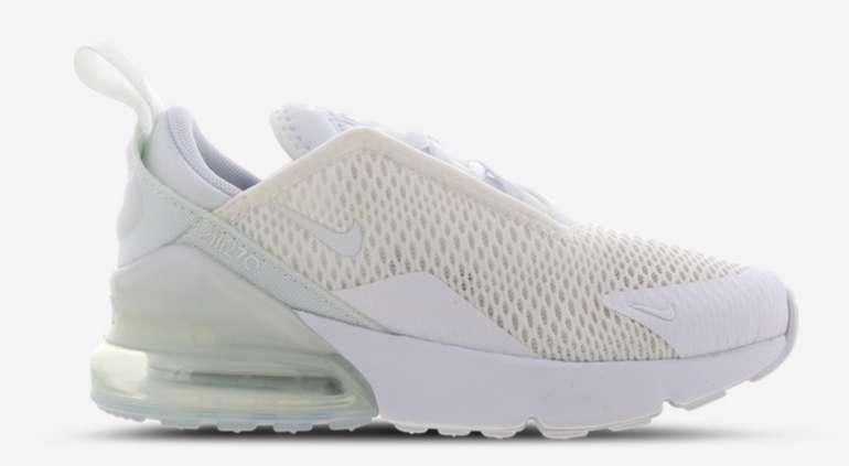 Nike Air Max 270 Vorschule Schuhe in vers. Farben zu je 59,99€inkl. Versand (statt 70€)