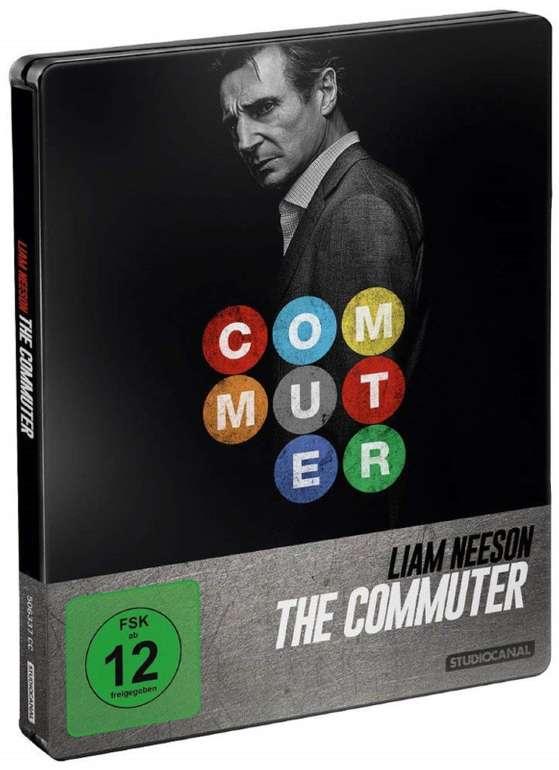 The Commuter - Steelbook Edition (Blu-ray) für 9,98€ inkl. VSK