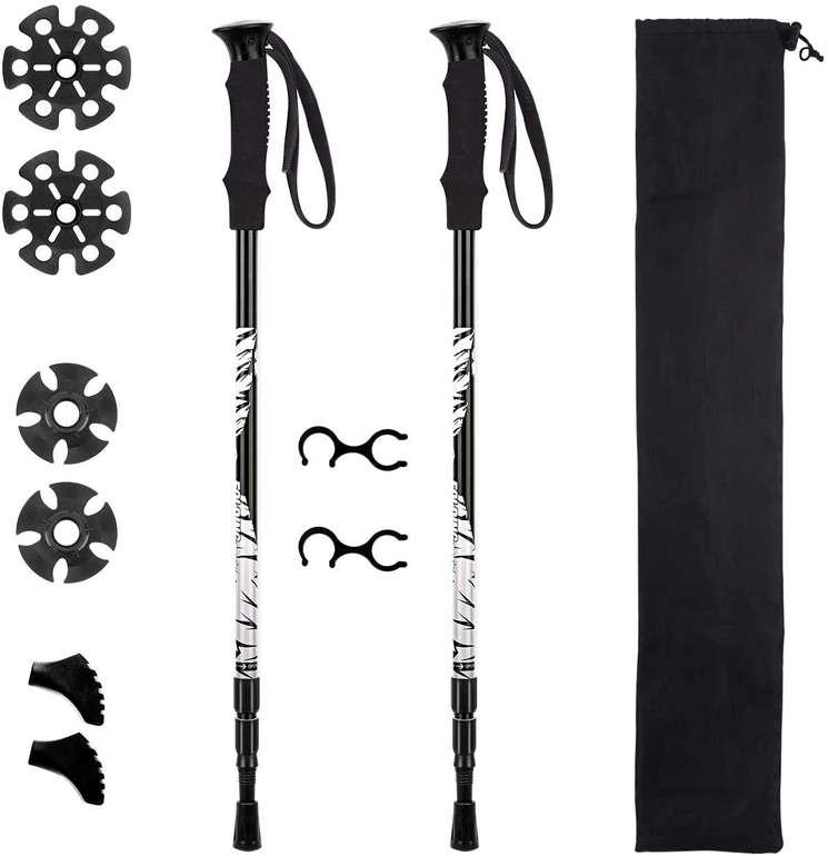 Mpow verstellbare Trekkingstöcke mit EVA-Schaumgriffen für 10,99€ inkl. Prime Versand (statt 20€)