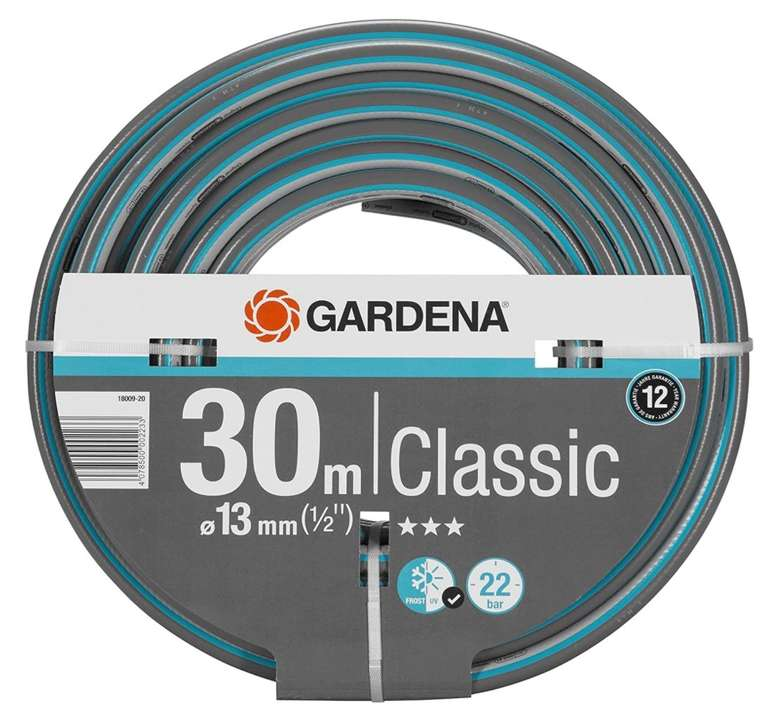 30m Gardena Classic Schlauch 13 mm (1/2 Zoll) - Universeller Gartenschlauch für 15,21€ inkl. Prime Versand