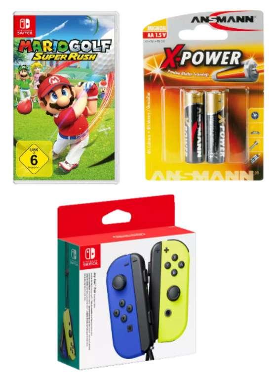 Mario Golf Super Rush / Zelda (Switch) + Switch Joy-Con 2er-Set Controller für 90,98€ inkl. Versand - Newsletter!