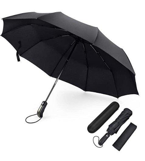Fylina Pro Regenschirm (Sturmfest, Auf-Zu-Automatik) für 9,34€ inkl. Prime Versand (statt 17€)