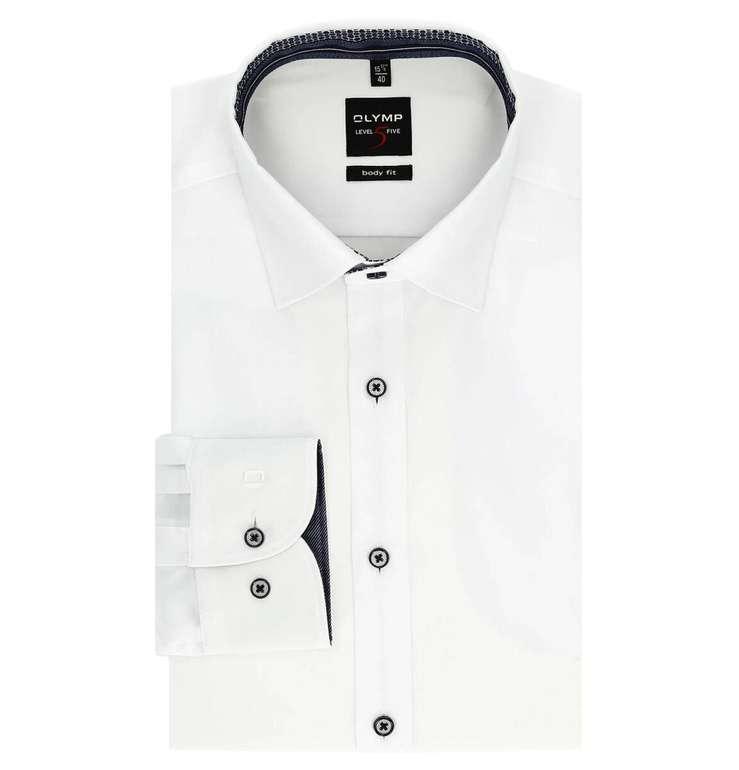 Olymp Businesshemd Body Fit (Under-Button-Down) für 29,94€ inkl. Versand (statt 40€)