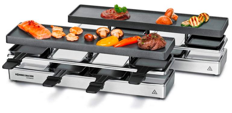 Top! Rommelsbacher RCC1600 Fun for 4+4 Raclette-Set für 99,99€ (statt 141€)