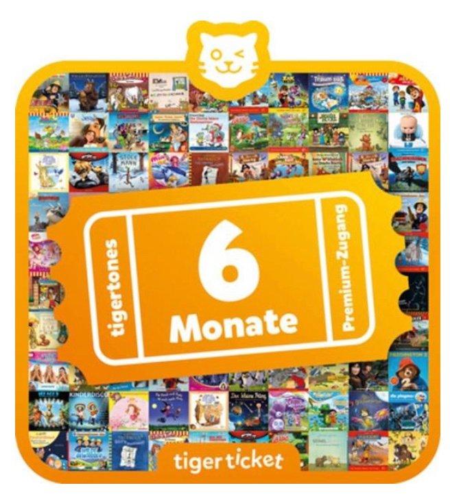 Tiger Media Tigerticket 6 Monate für 26,39€ inkl. Versand (statt 30€)