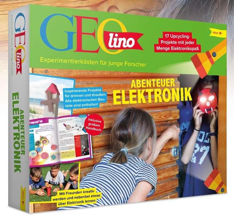Franzis Geolino - Abenteuer Elektronik: 18 spannende Projekte für Kinder ab 8 Jahren nur 18,95€ (statt 22€)