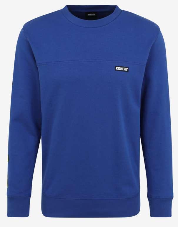 """Diesel Sweatshirt """"Willy"""" in royalblau für 29,61€inkl. Versand (statt 45€)"""