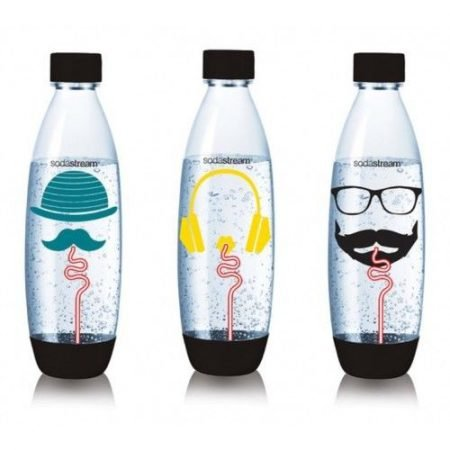 SodaStream Flaschen-Set Hipster (3 x 1 Liter) für 11,99€ inkl. VSK (statt 26€)
