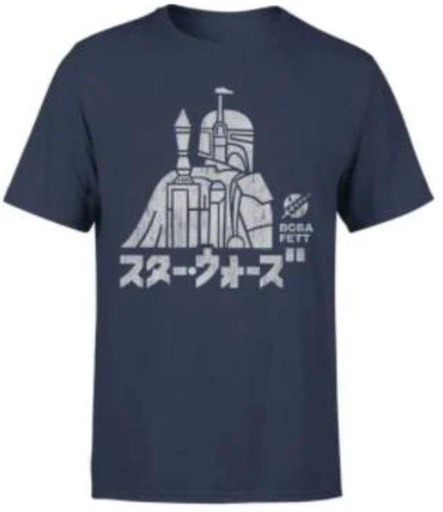 Star Wars Boba Fett T-Shirt (für Damen und Herren) + Boba Fett Figur für 23,98€ inkl. Versand (statt 33€)