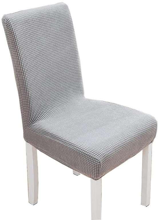 Auteng Plaid Stuhlbezüge (waschbar) 2 oder 4 Stück ab 5,99€ inkl. Prime Versand (statt 12€)