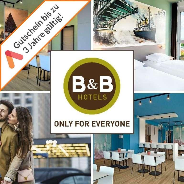 B&B Hotels Gutschein - 3 Tage für 2 Personen mit Frühstück (55 Hotels) für 84,98€ (statt 100€)