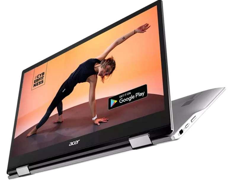 Acer Chromebook Spin 513 (CP513-1H-S72Y) mit 13,3 Zoll (Qualcomm, 4 GB RAM, 64 GB) für 299€ inkl. Versand