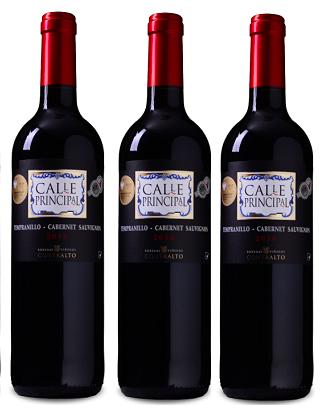 6 Flaschen Calle Principal - Tempranillo-Cabernet Sauvignon Rotwein für 23,94€