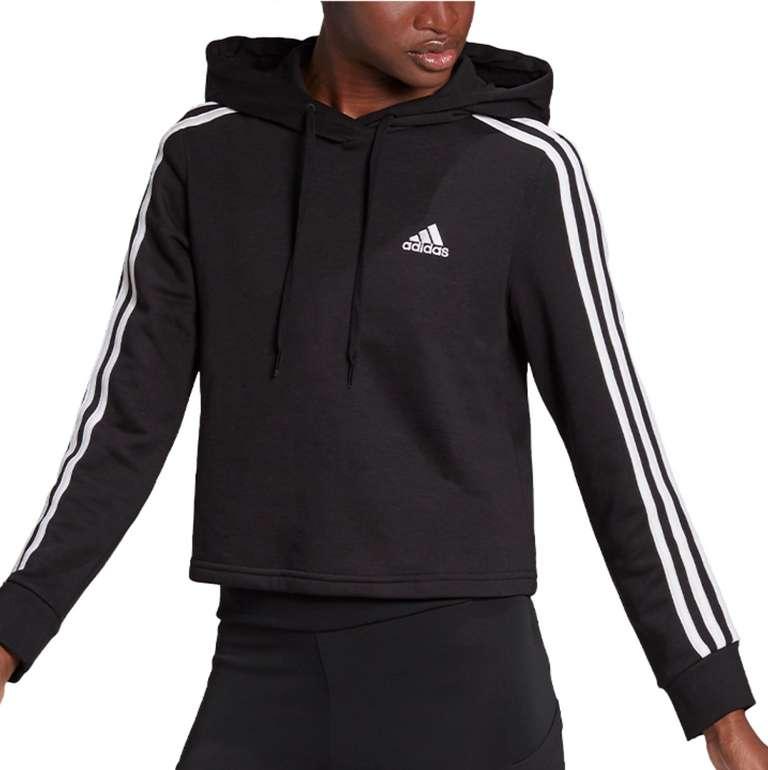 adidas Essentials 3S FT Cropped Hoodie Women in 2 vers. Farben zu je 32,99€inkl. Versand (statt 50€)