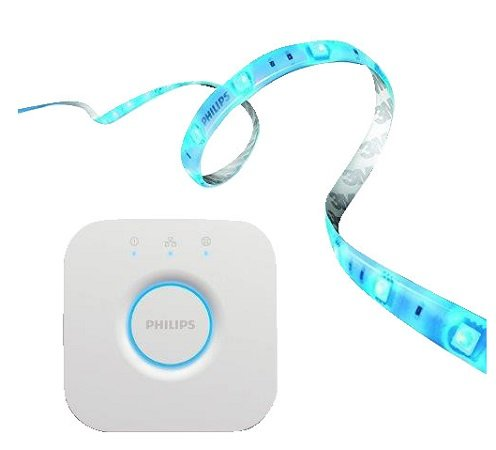 Philips Hue LightStrip+ 2m Basis inkl. Hue Bridge für 80,99€ inkl. Versand