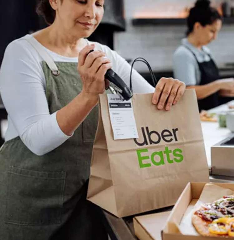 Berlin: Groupon Uber Eats Wertgutscheine - z.B 20€ Gutschein für 3,20€ - Neukunden