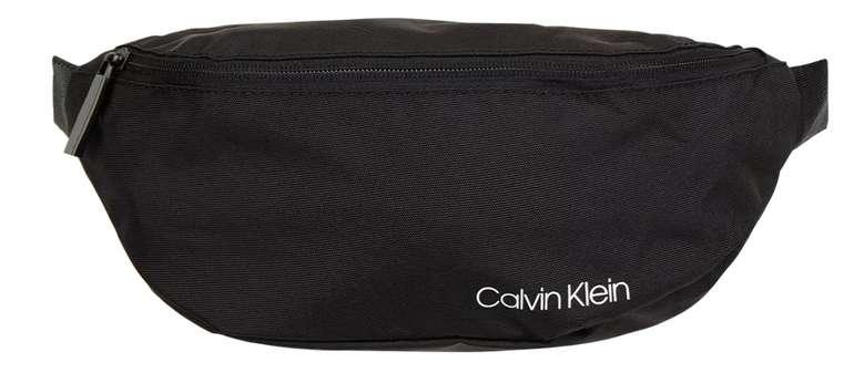 Calvin Klein Bauchtasche mit Mesh in Grau / Schwarz für 14,99€ inkl. Versand (statt 42€)