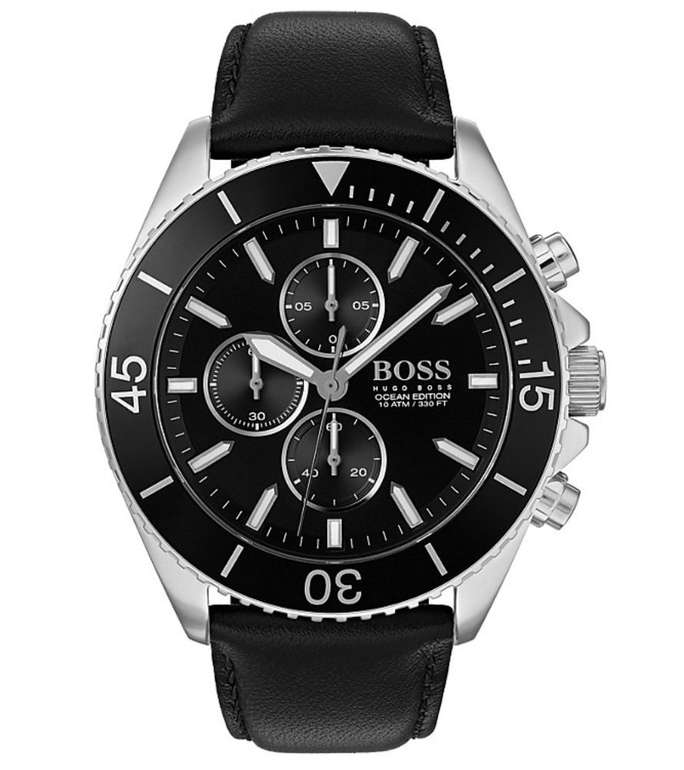 Christ: 20% Rabatt auf ausgewählte reduzierte Uhren - z.B. Hugo Boss Ocean Edition Chronograph für 159,20€