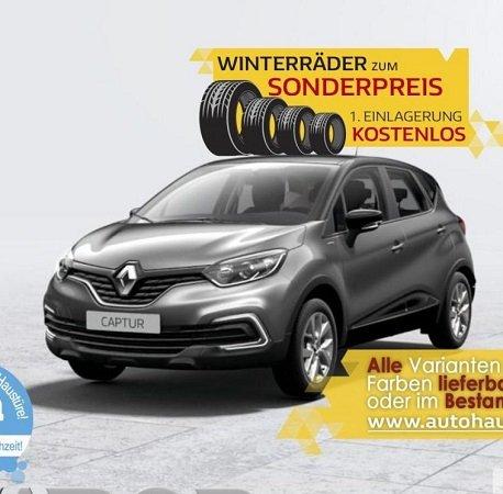 Privat + Gewerbe: Renault Captur ENERGY TCe 90 Limited für 119,94€ Brutto leasen