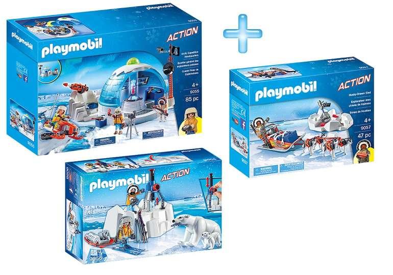 Playmobil Bundle Polar Expedition für 33,74€ inkl. VSK (statt 58€)