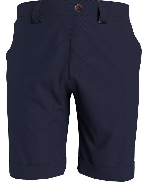 """Tommy Jeans Herren Chinoshorts """"Scanton"""" Slim Fit in Blau für 33,21€ inkl. Versand (statt 49€)"""