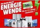 Media Markt Energiewende: Bis zu 25% Cashback auf ausgewählte Geräte