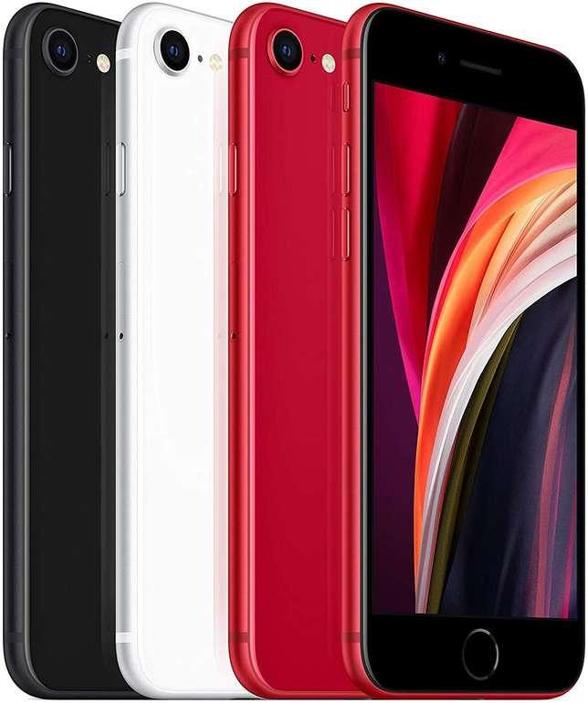 Apple iPhones SE 64GB 2020 (39,95€) + Congstar Allnet Flat M (D1, All-Net, SMS Flat, 8GB LTE Datenvolumen) je 20€ mtl.