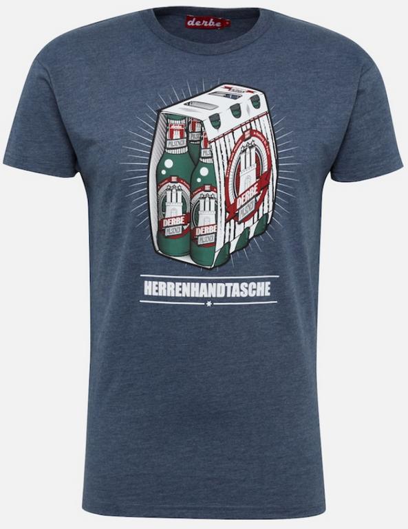 """Derbe T-Shirt """"Herrenhandtasche Reloaded"""" ab 14,90€ inkl. Versand (statt 30€)"""
