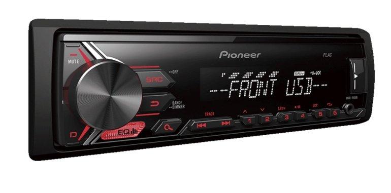 PIONEER MVH-190UB (4x50 Watt, USB, Remote App Control) Autoradio für 35€