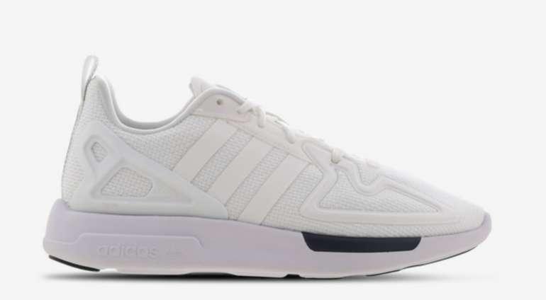 adidas ZX 2K Flux Kinder Sneaker (GS) in Weiß für 31,99€inkl. Versand (statt 40€)