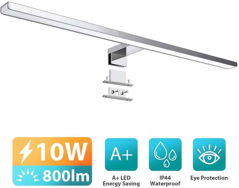 Kingso - 10W LED Spiegelleuchte (60 cm, IP44) für 20,99€ inkl. Versand (statt 30€)