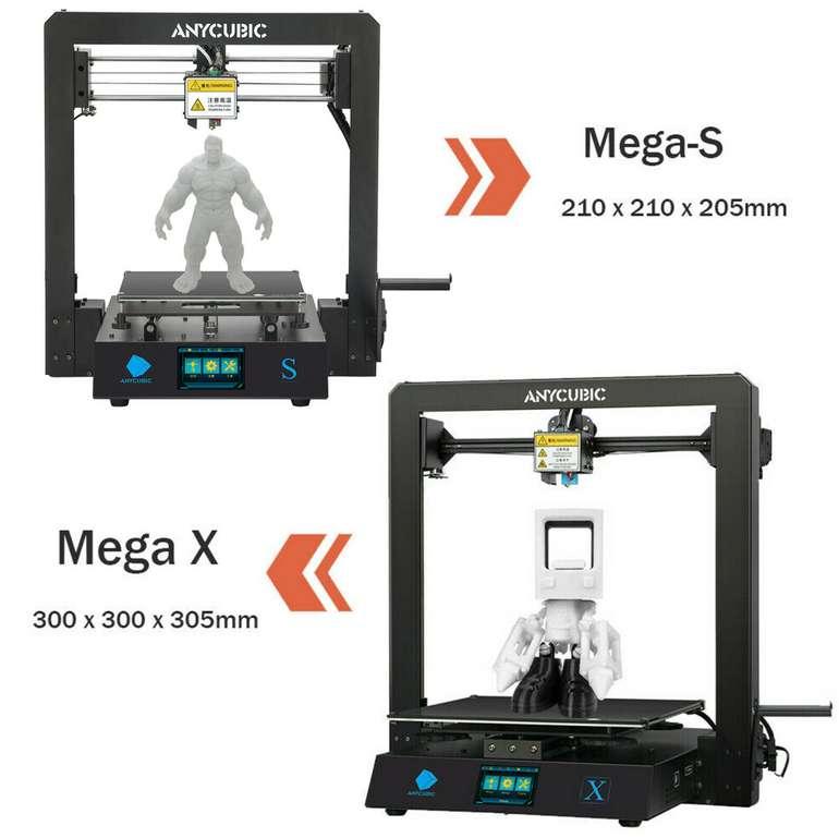 """Anycubic i3 Mega S/X FDM 3D Drucker mit Druckgröße 3,5"""" für 177,65€ inkl. Versand (statt 209€)"""