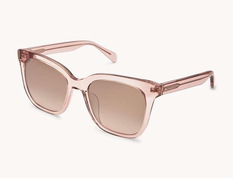 Fossil Damen Sonnenbrille Elie Rectangle in 2 Farben für je 38,25€ inkl. Versand (statt 59€)
