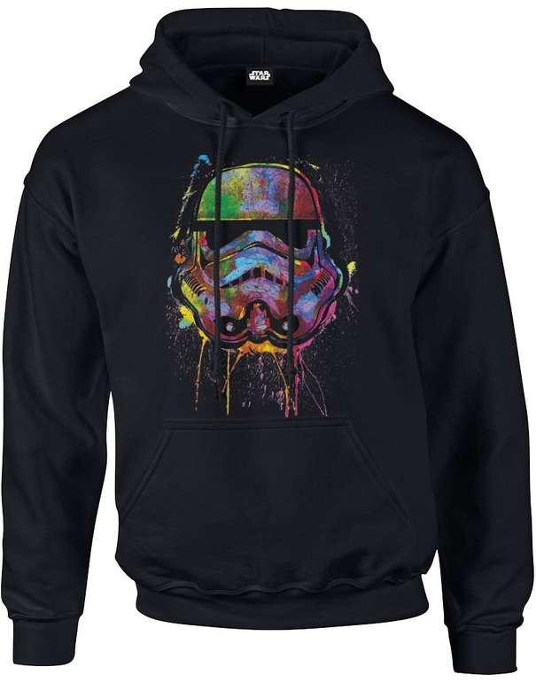Star Wars Paint Splat Stormtrooper Hoodie für 19,99€ (statt 27€)