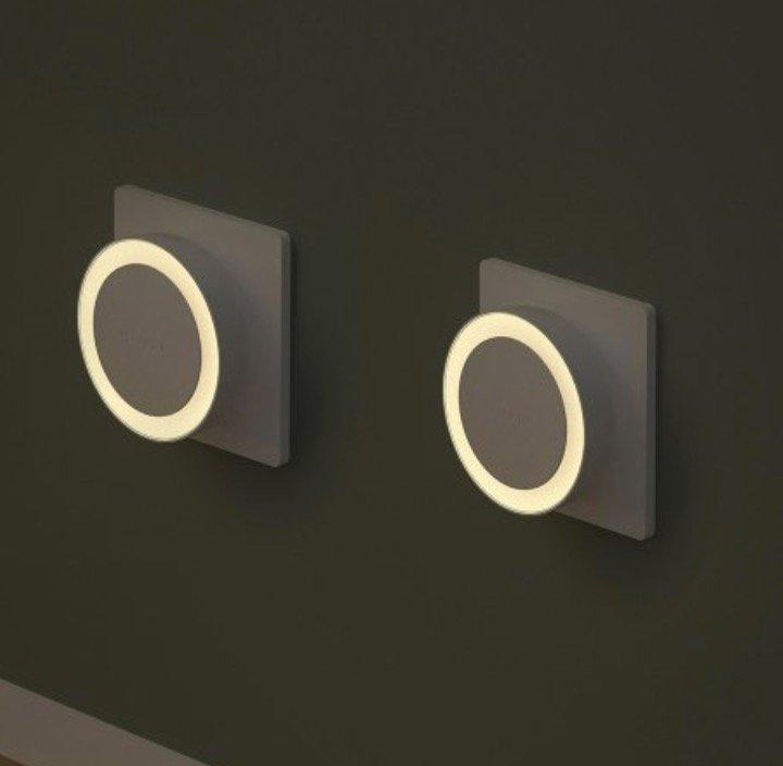 2er Pack Yeelight YLYD11Y LED Nachtlichter mit Bewegungssensor (Xiaomi Ecosystem Product) für 10,02€