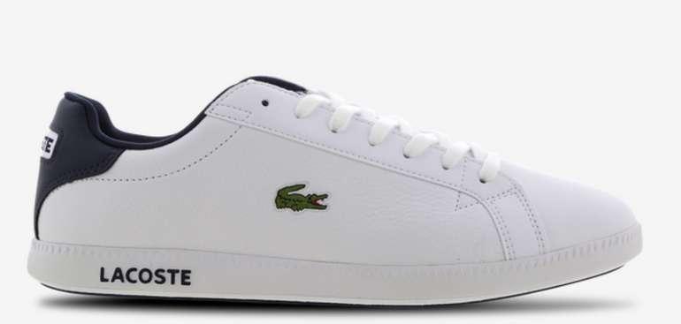 Lacoste Herren Sneaker Graduate in Weiß für 49,99€ inkl. Versand (statt 70€)