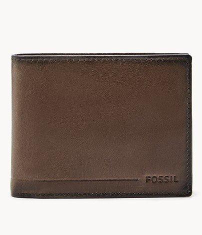 """Fossil Herren Geldbörse """"Allen"""" (RFID Blocking) für 28€ inkl. Versand (statt 62€)"""