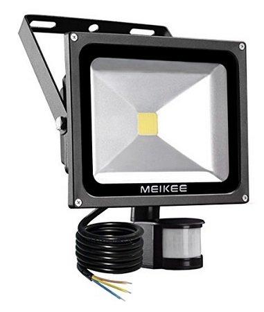 Meikee - 20 Watt LED Fluter mit PIR Bewegungsmelder für 19,99€