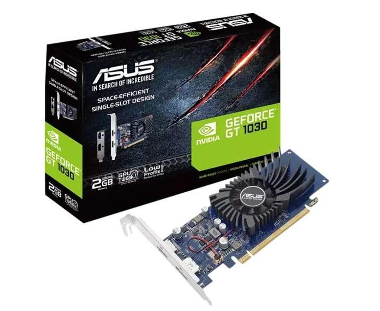 Asus GT1030-2G-BRK Nvidia Grafikkarte für 86,99€ inkl. Versand (statt 109€)