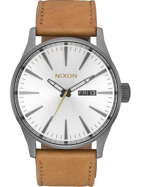 Nixon Sentry Leather Herren Armbanduhr für 69,94€ inkl. VSK (statt 105€)