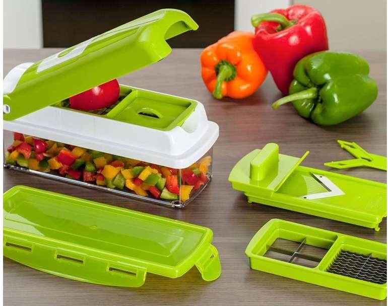 Genius Nicer Dicer smart 10 tlg. Gemüseschneider-Set für 27,82€ (statt 40€) - Prime!